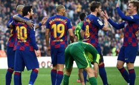 อัตราต่อรองของการแข่งขัน Barcelona vs Eibar 01h15 วันที่ 30/12